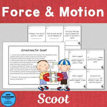 Force and Motion: Scoot