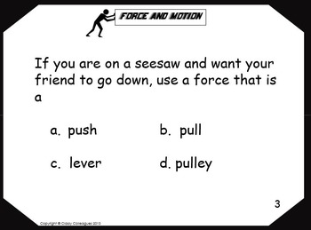 Force and Motion Slides