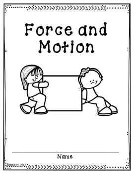 Force and Motion Supplemental Activities