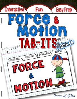 Force and Motion Tab-Its™