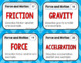 Force and Motion Task Cards