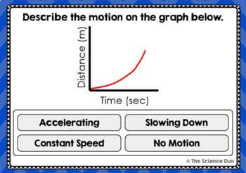 Force and Motion Task Cards - Digital Boom Cards™