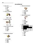 Force and Motion Test (Meets Grade 1 VA SOLs)