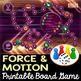 Force and Motion Themed Game Board - Editable Cards