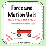Force and Motion Unit NGSS 3-PS2-1 and 3-PS2-2