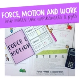 Force and Motion Unit
