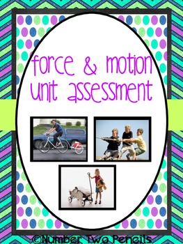 Force and Motion Unit Assessment