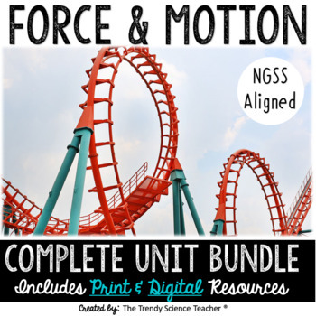 Force And Motion Worksheets Teaching Resources Teachers Pay Teachers