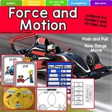 Force and Motion Unit, Push and Pull, Gravity, Friction, H