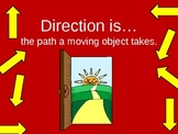 Force and Motion Unit: Speed and Direction PowerPoint