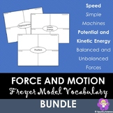 Force and Motion Unit Vocabulary Practice