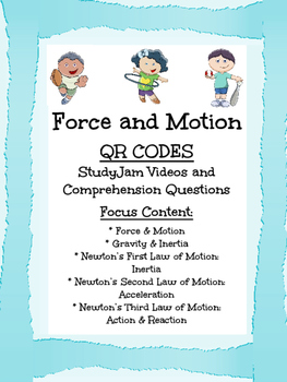 Force and Motion Videos and Comprehension Questions