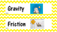 Force and Motion Vocabulary Words