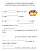 Force and Motion Word Trace Activity