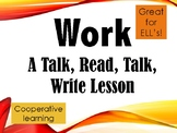 Force and Motion - Work: Talk, Read, Talk, Write Lesson