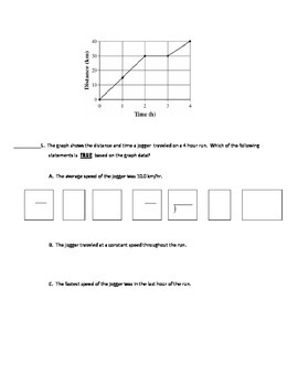 Force and Motion Worksheet MOD