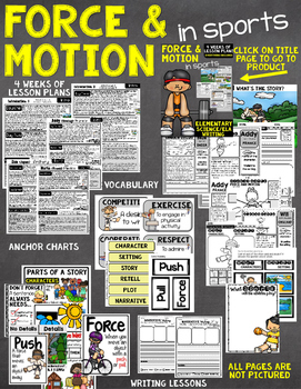 Force and Motion in Sports Unit