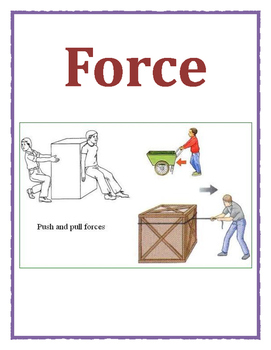 Force and Motion's word wall