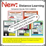Force and Motion unit Companion Bundle Distance Learning T