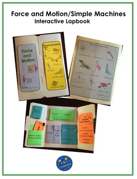 Force and Motion/Simple Machines Interactive Lapbook