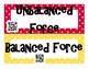 Force and Newton's Laws INTERACTIVE Word Wall