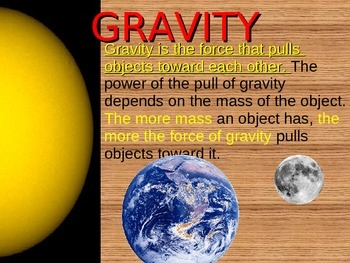 Force and motion Science power point