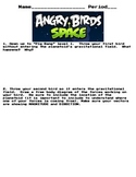 Force diagrams using angry birds space