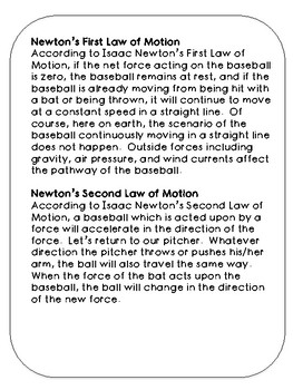 Force in Motion Reading Station