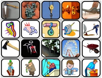 """""""Force,Motion & Machines"""" sorting and picture matching for Autism"""