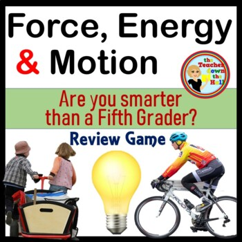 Force/Motion/Energy Quiz Game (Are You Smarter Than a 5th Grader)