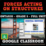 Forces Acting on Structures - Ontario Grade 5 Science - GOOGLE CLASSROOM