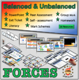Forces - Balanced and Unbalanced Forces Explained - Middle