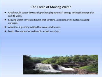 Forces Behind Erosion Power Point