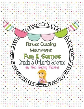 Forces Causing Movement| Fun & Games | Grade 3 Ontario Science