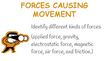 Forces Causing Movement Slideshow