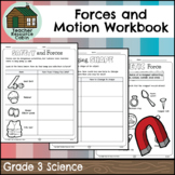 Forces Causing Movement Workbook (Grade 3 Ontario Science)