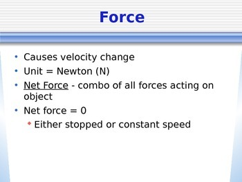 Forces & Friction PowerPoint