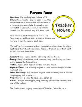 Forces Games - Forces Race