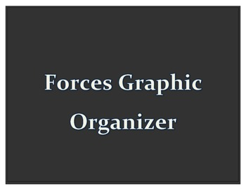 Forces Graphic Organizer