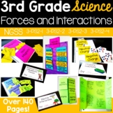 Forces & Interactions {aligns to NGSS 3-PS2-1, 3-PS2-2, 3-PS2-3, 3-PS2-4}