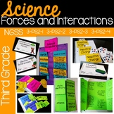 Forces & Interactions {aligns to NGSS 3-PS2-1, 3-PS2-2, 3-