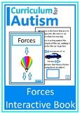 Forces Physics Interactive Book Autism Special Education Science