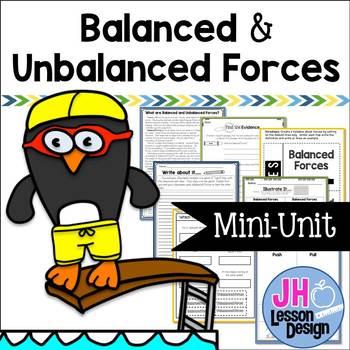 Balanced and Unbalanced Forces Mini-Unit