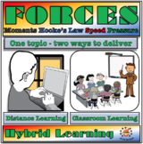 Forces Module for Middle School - Classroom, Distance & Hy