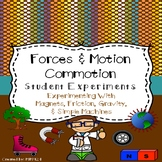 Forces & Motion Commotion Student Experiments