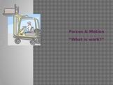 Forces & Motion, Lesson 2