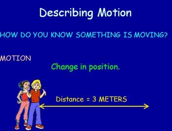 Forces & Motion Notes - Describing Motion