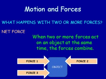 Forces & Motion Notes - Newton's First Law