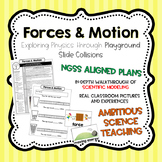 Forces & Motion: Playground Slide Collisions - NGSS-Aligne