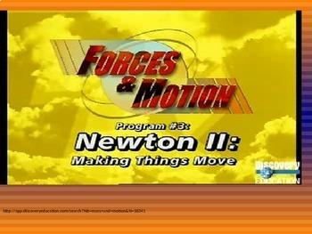 Forces & Motion BUNDLE 4th Grade Science